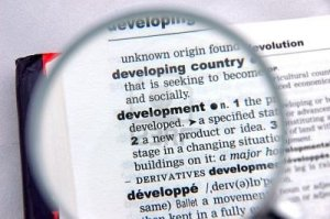 Development definition image from dictionary